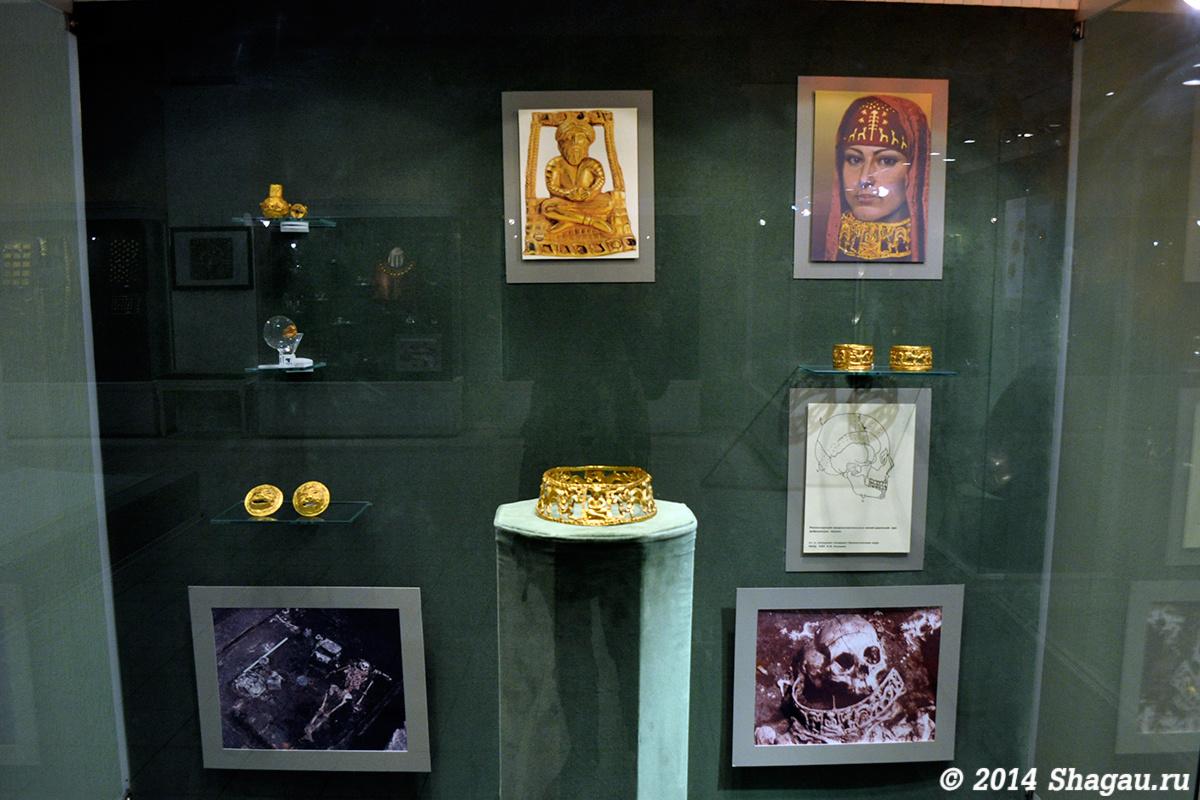 Изделия из захоронения сарматской царицы