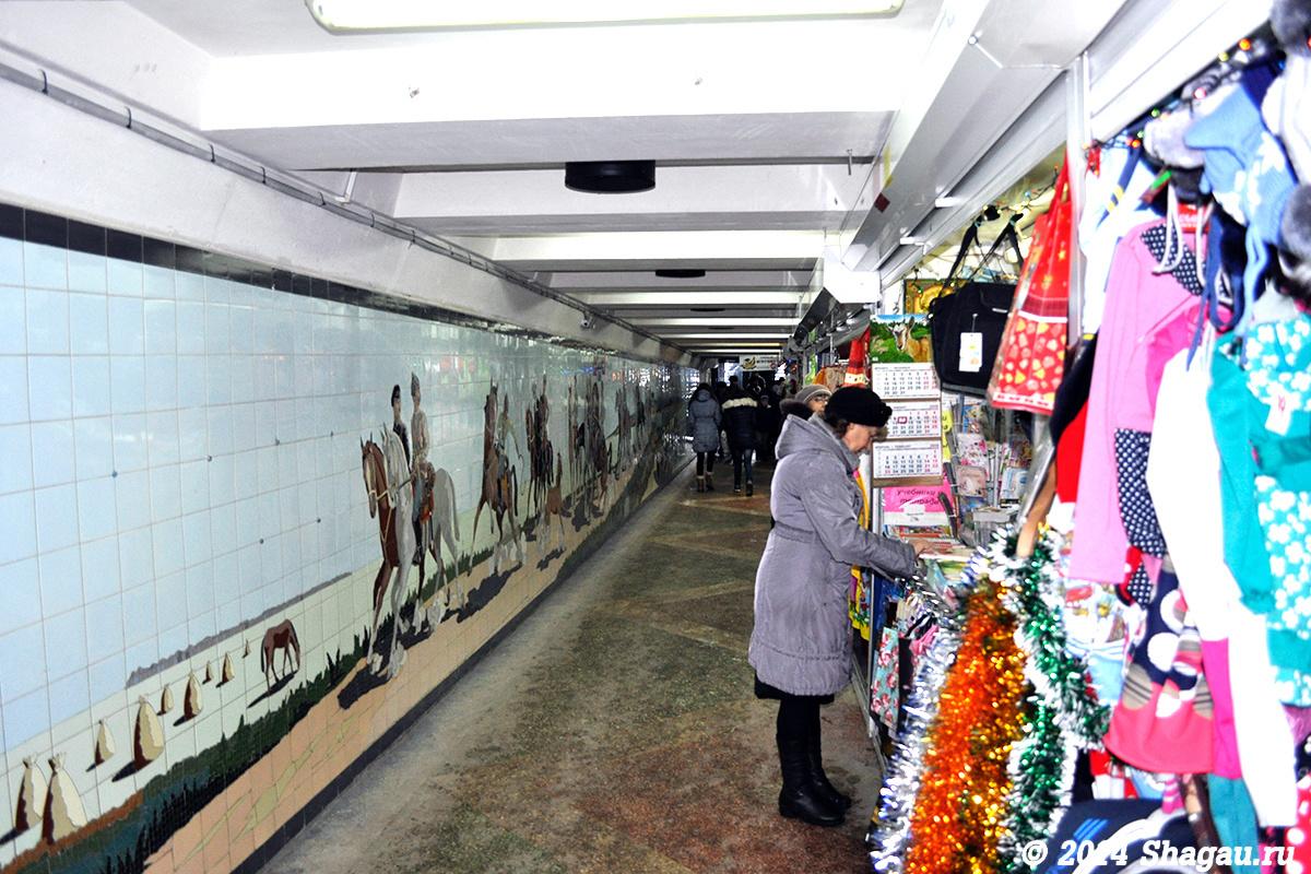 Мозаики в подземных переходах Ростова-на-Дону