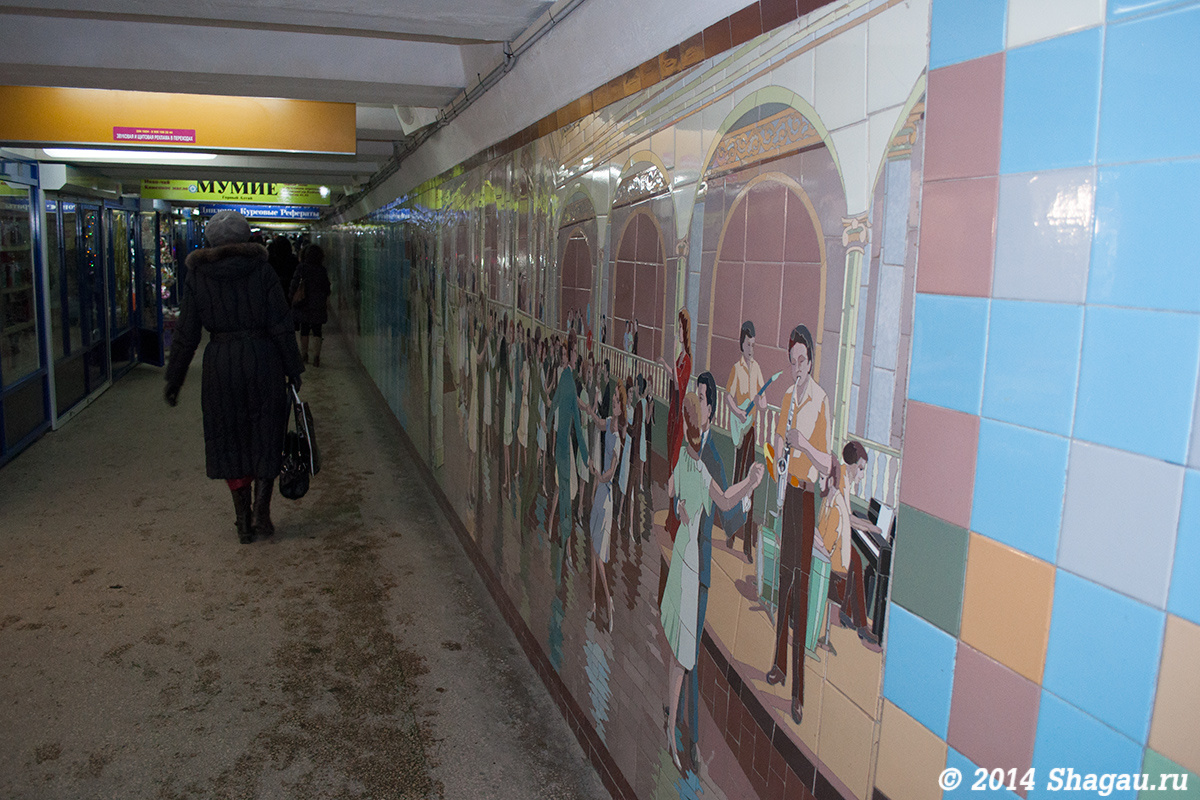 Переход на Ворошиловском проспекте