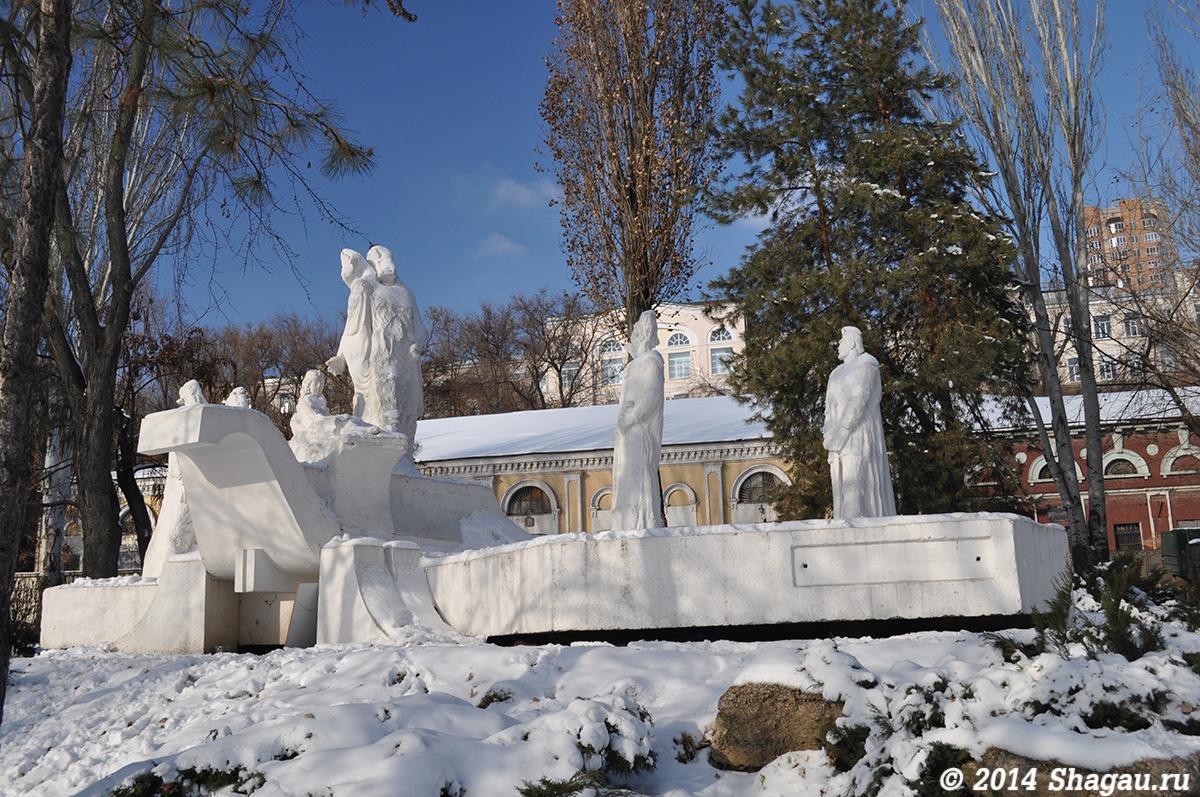 Памятник Стеньке Разину
