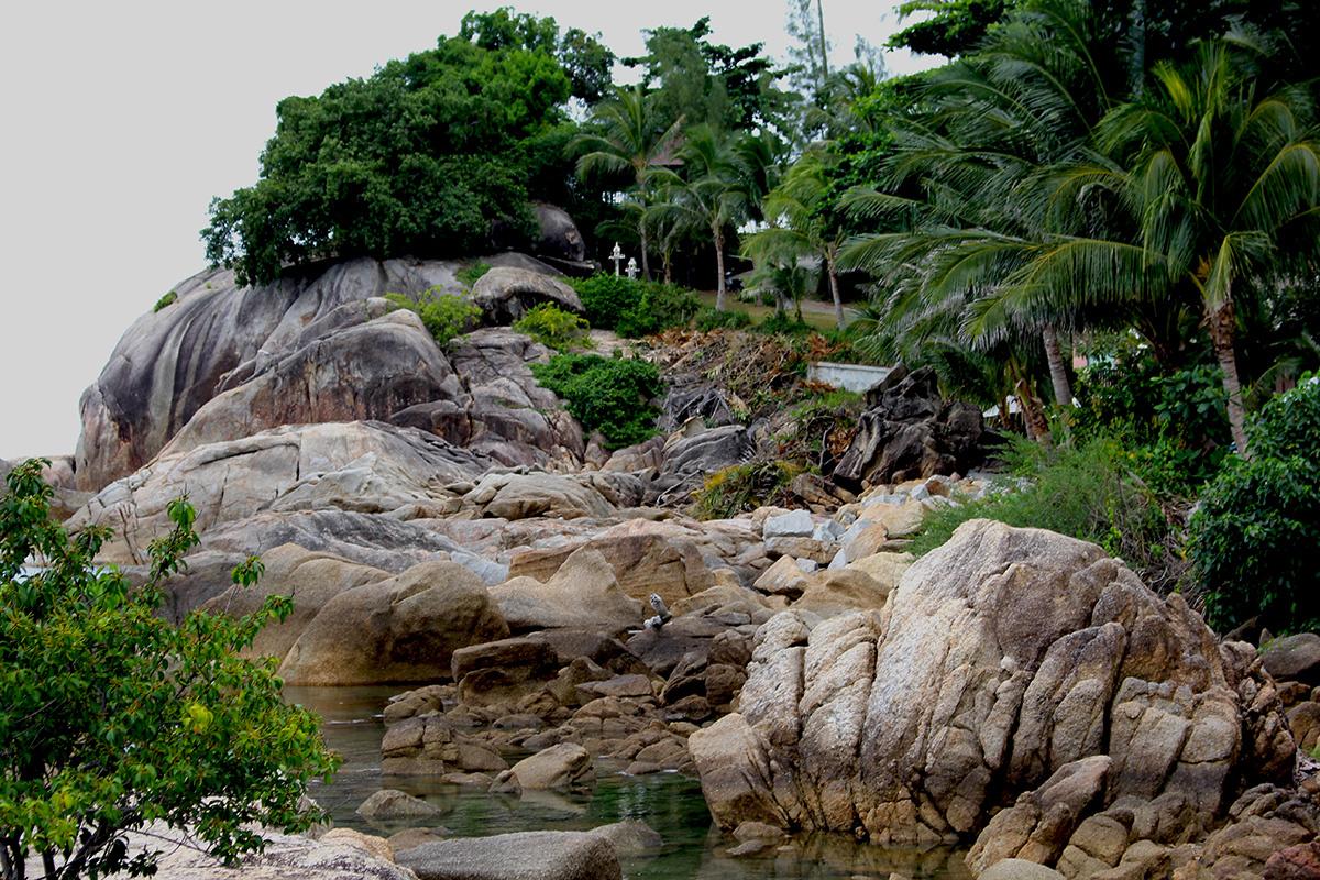Пейзаж Самуи Тайланд