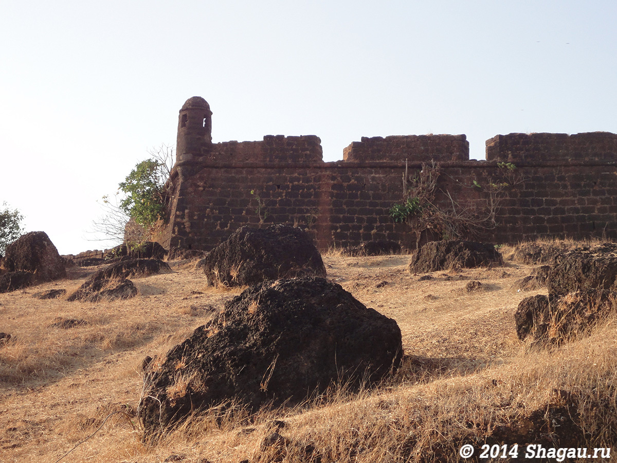 Форт — крепость Чапора