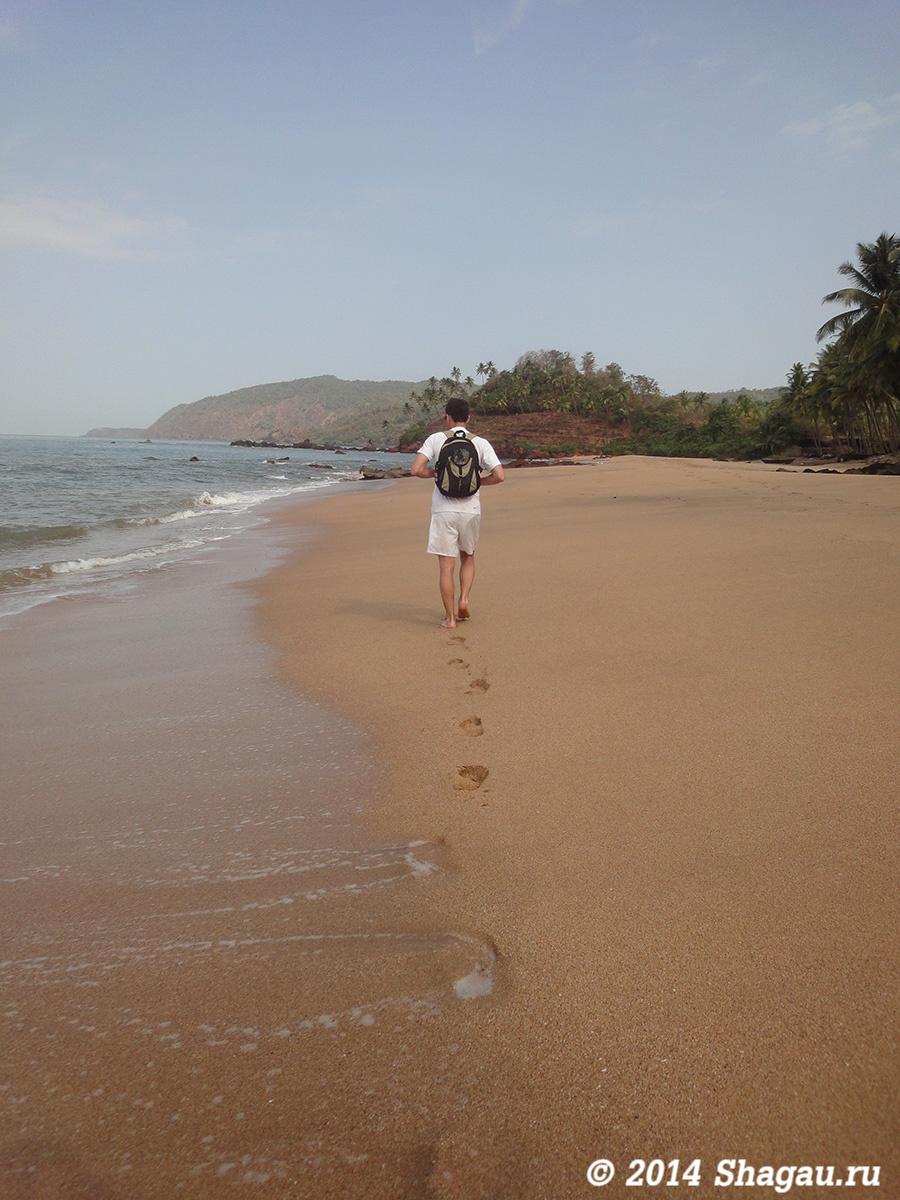 Пляж Кола на юге Гоа