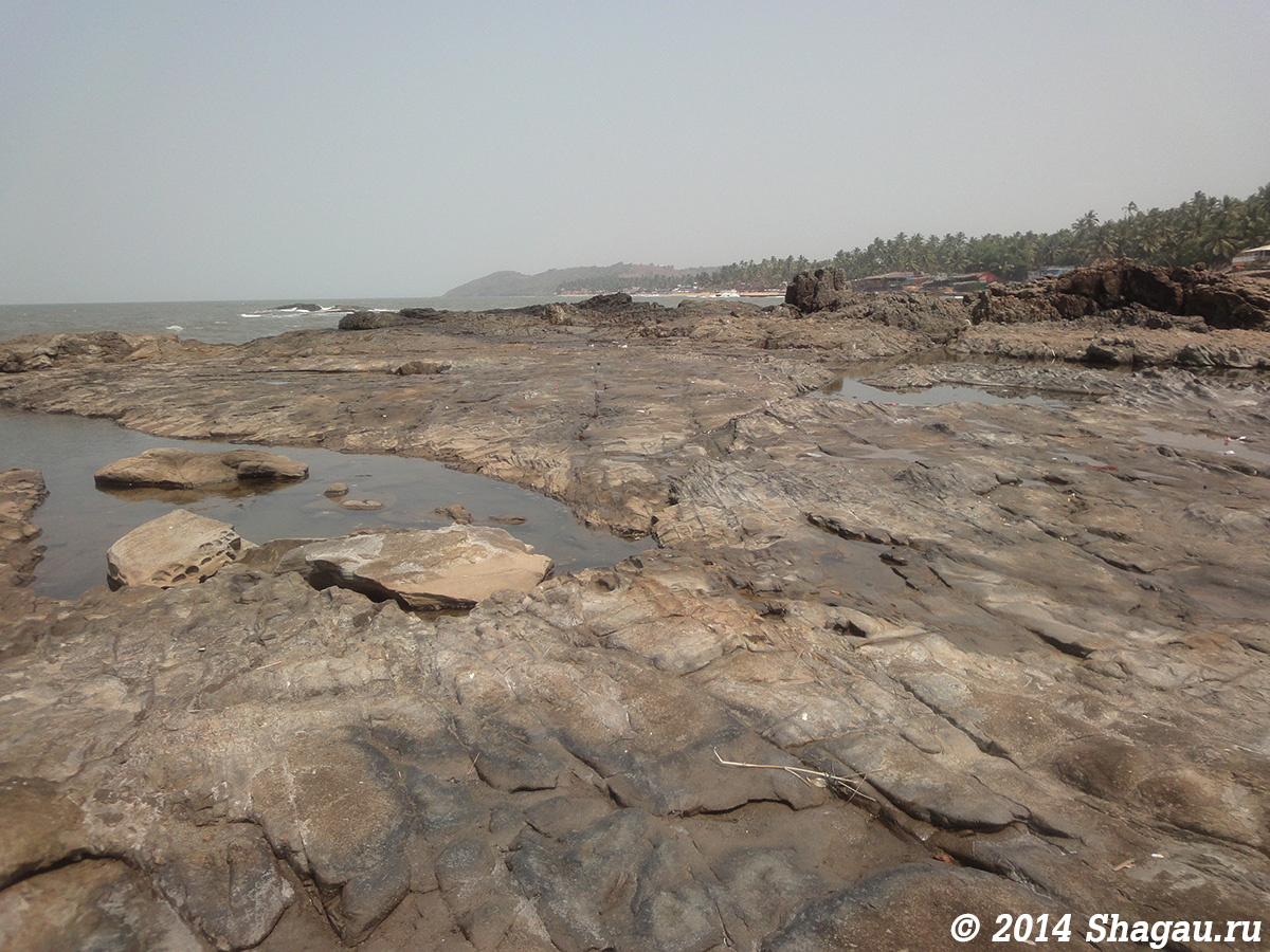Пляж Анджуна на Гоа