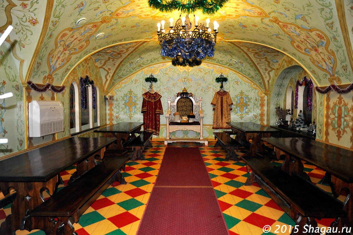 Дегустационный зал медовухи в Суздале