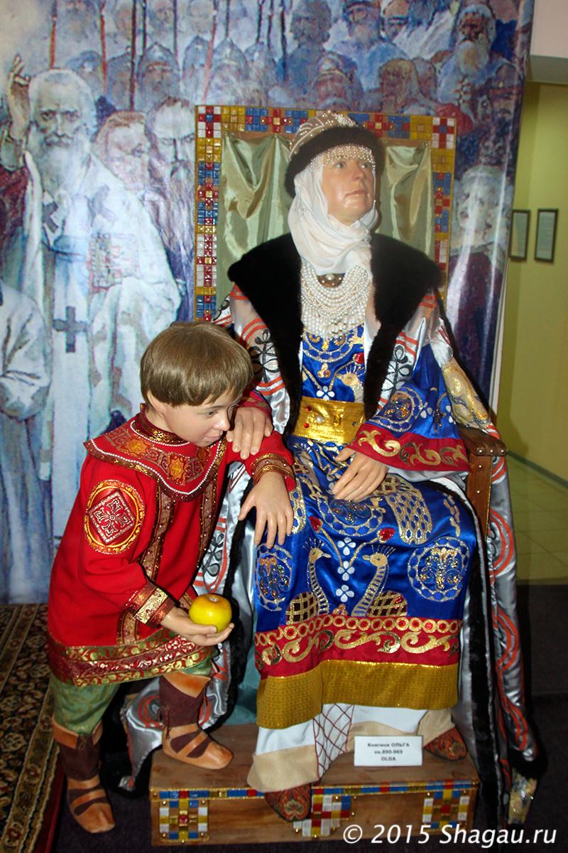 Княгиня Ольга и ее внук