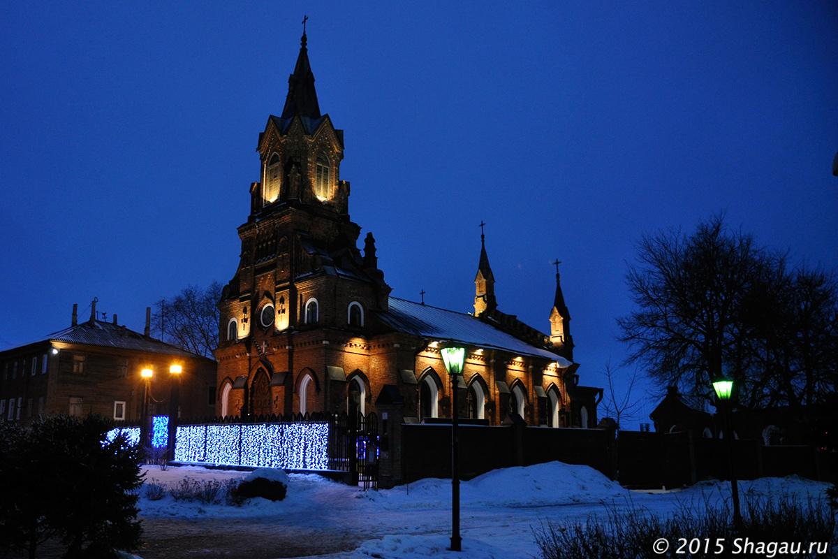 Католический костел во Владимире