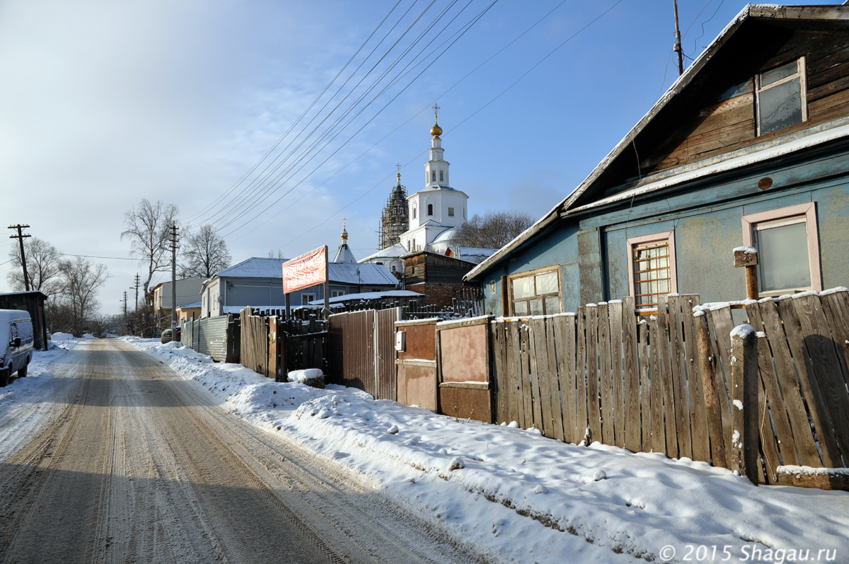 На улицах Владимира