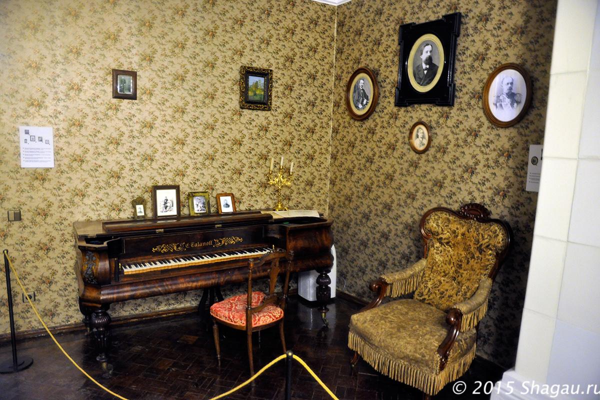 В гостиной дома Столетовых