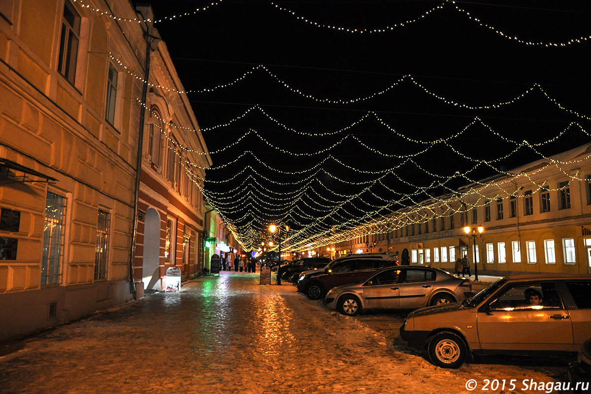 На улицах Мурома. Большая Московская