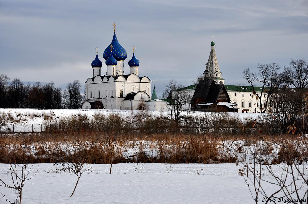 Вид на Кремль Суздаля