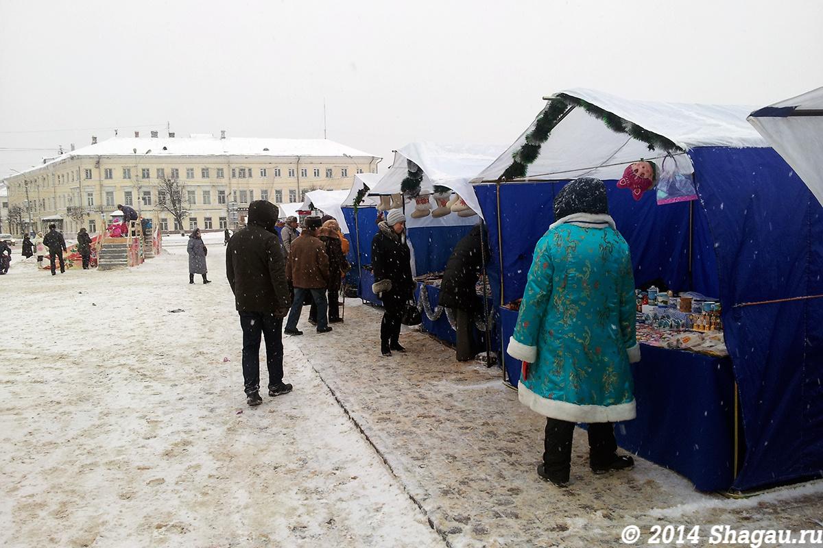 Рождественская ярмарка в Костроме