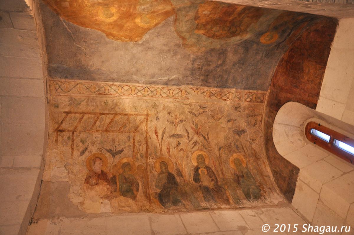 Дмитриевский собор. Фрески 12-го века