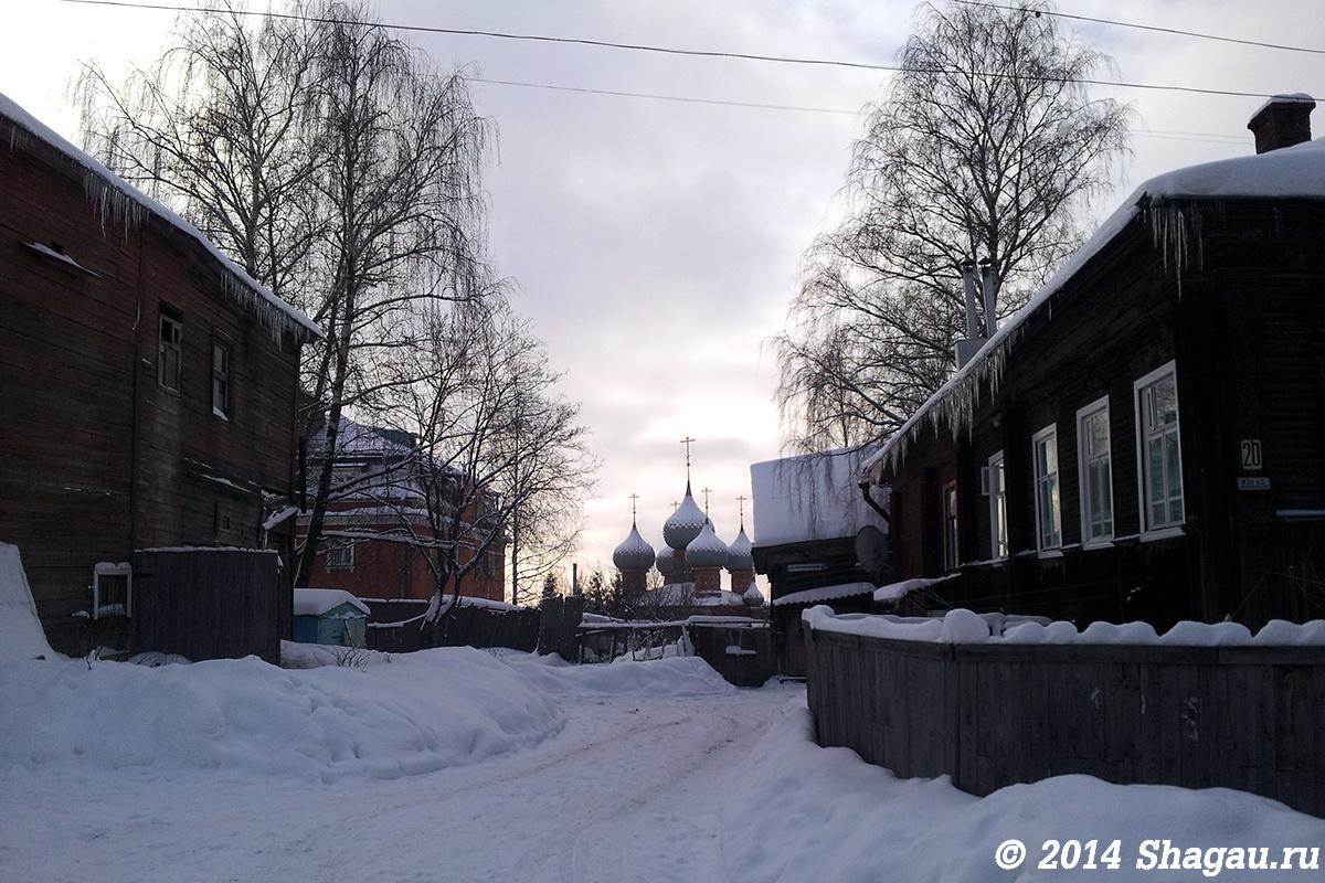 Вид на Церковь на дербе