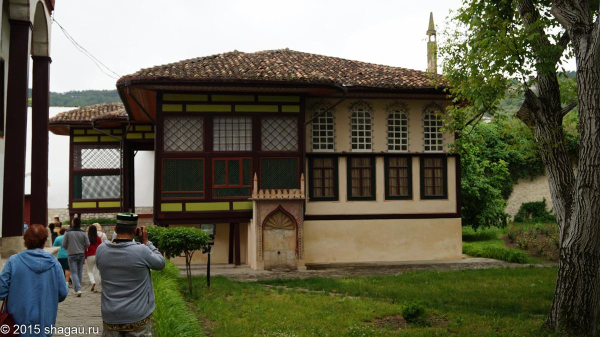 На территории Бахчисарайского дворца