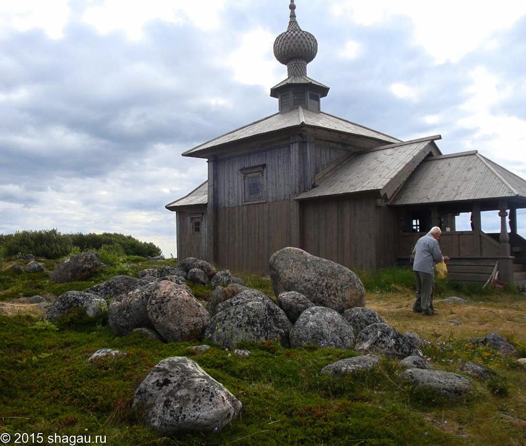 Заячий остров. Церковь Андрея Первозванного