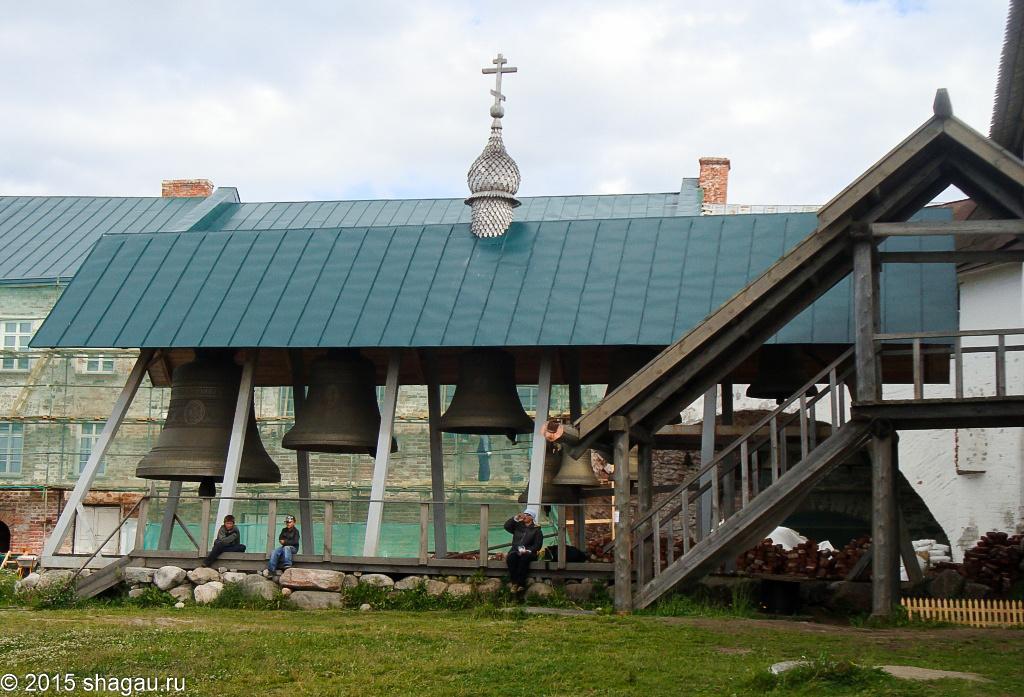Колокольня Свято-Преображенского монастыря