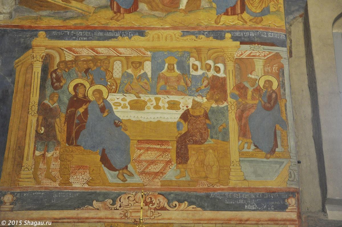 Фрески, Спасо-Преображенский собор