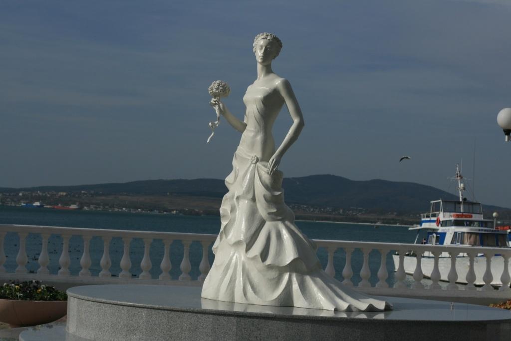 Геленджик. Невеста
