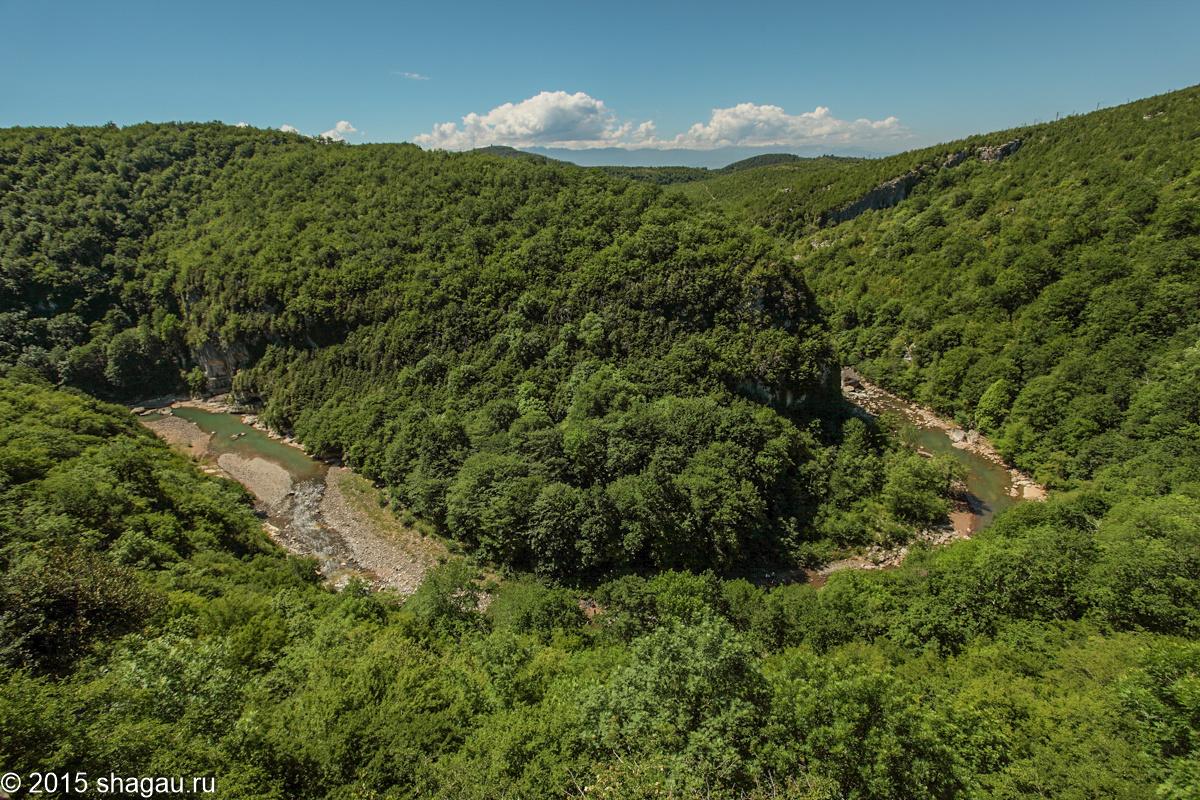 экотуристическое место в окрестностях Кутаиси