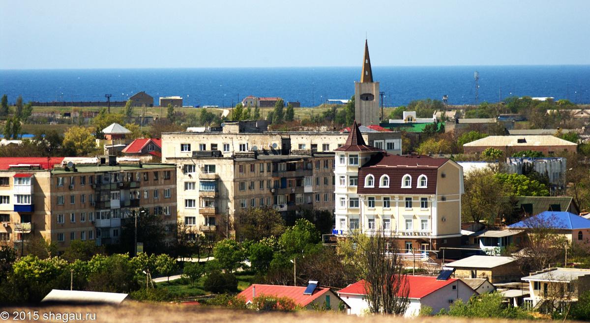 Вид на Черноморск из жилища Карлсона. Фото:. Г. Стороженко