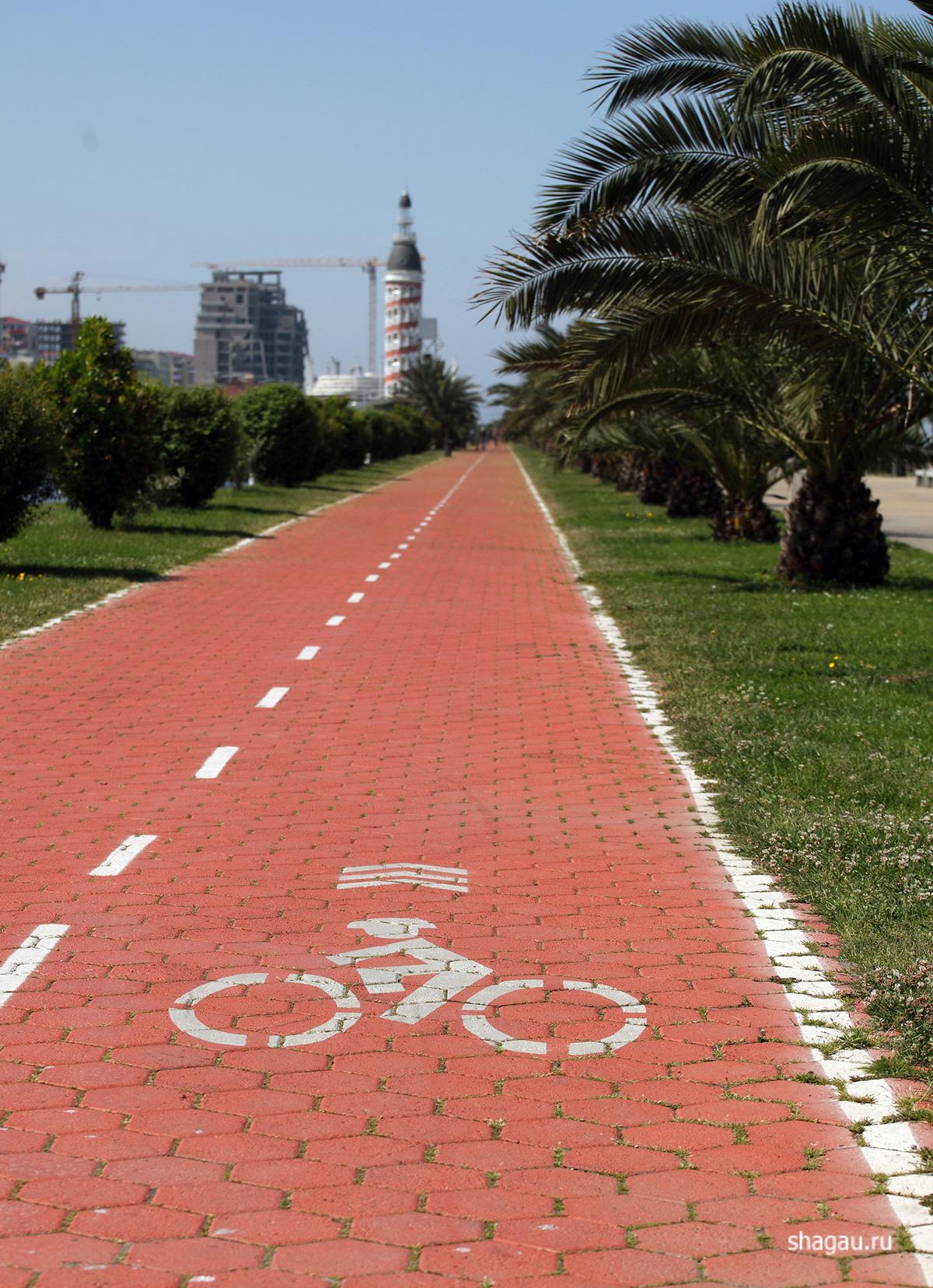 Велодорожки Батуми