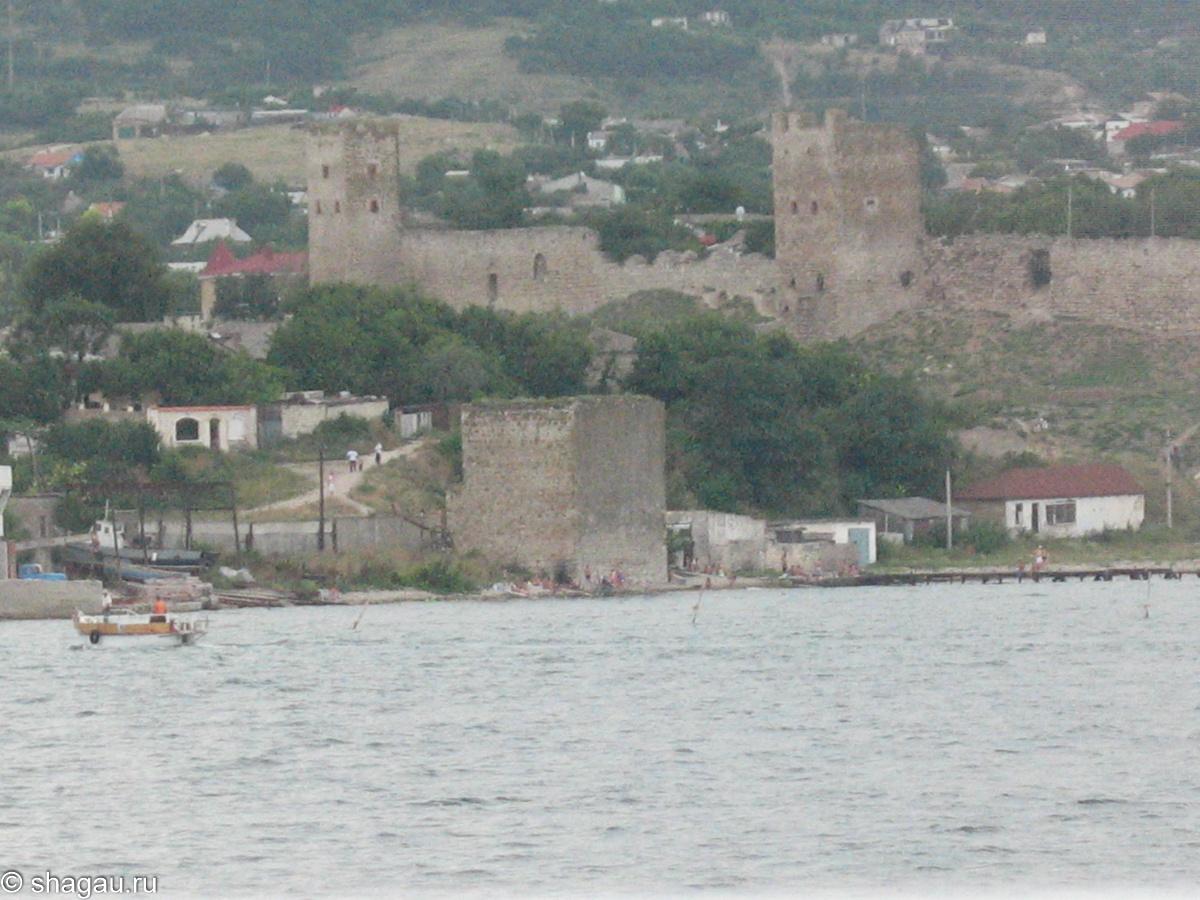 Вид на Феодосию с моря