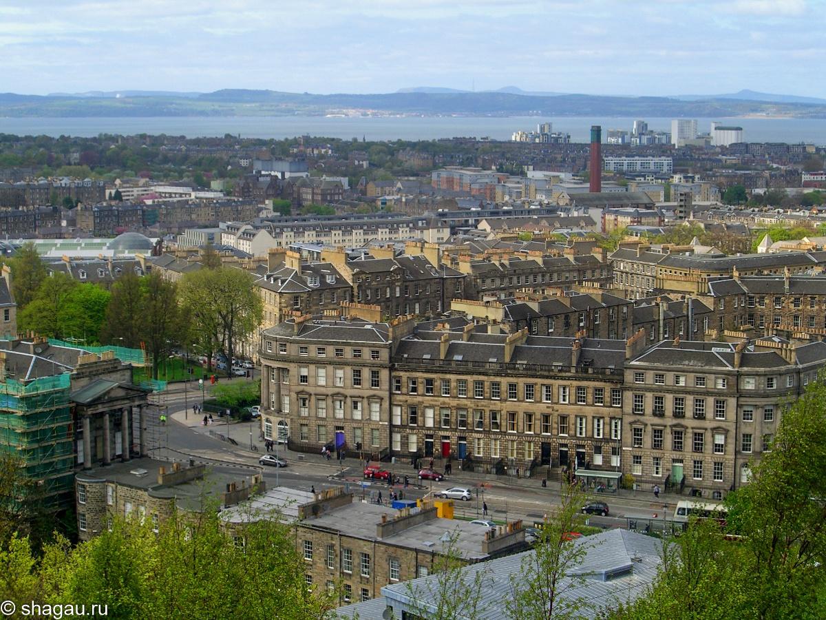 Эдинбург. Вид на Новый город