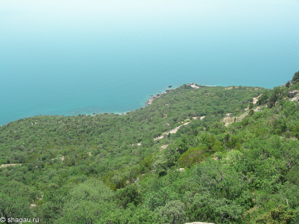 Вид на Батилиманское урочище и бухту