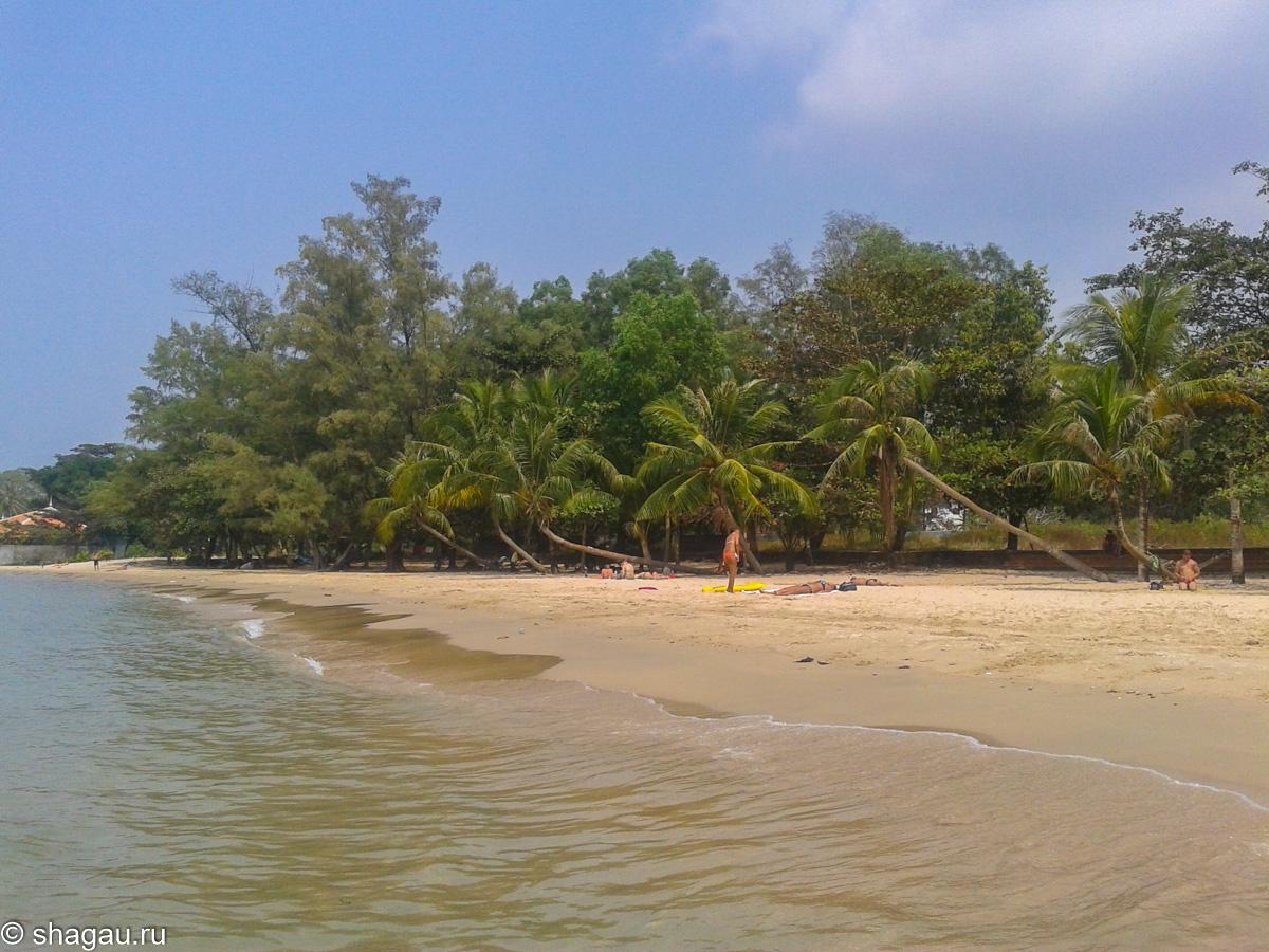 Пляж Виктории