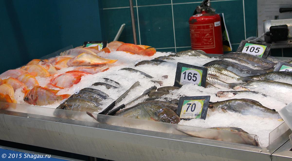 Цены на рыбу