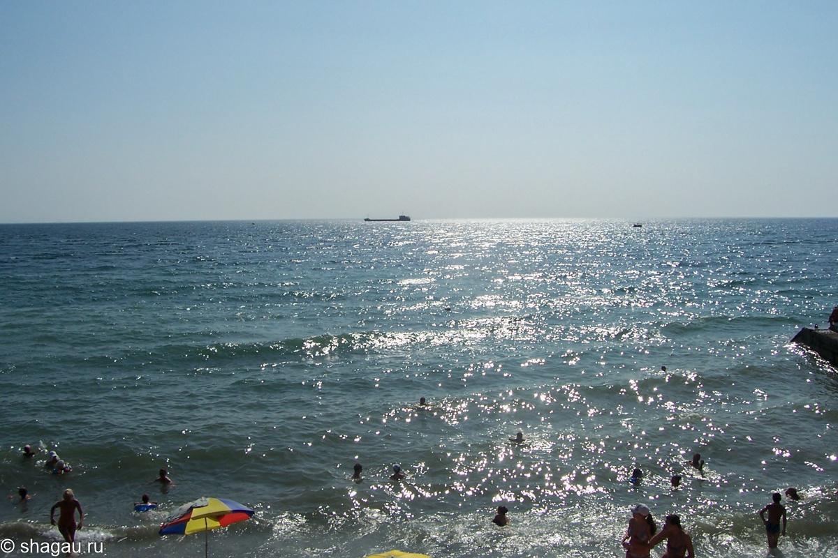 Море в Алуште