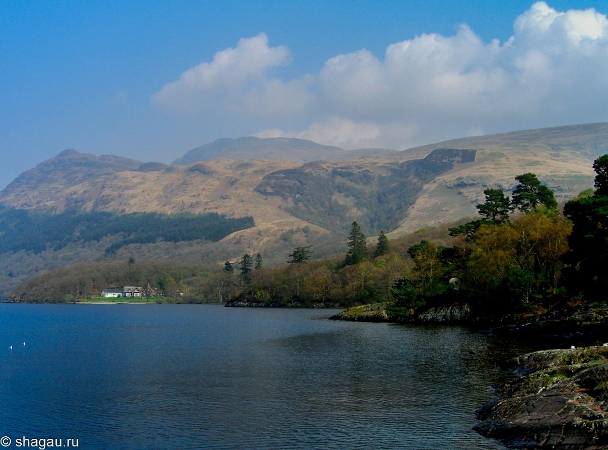 Шотландия. Озеро Лох-Ломонд