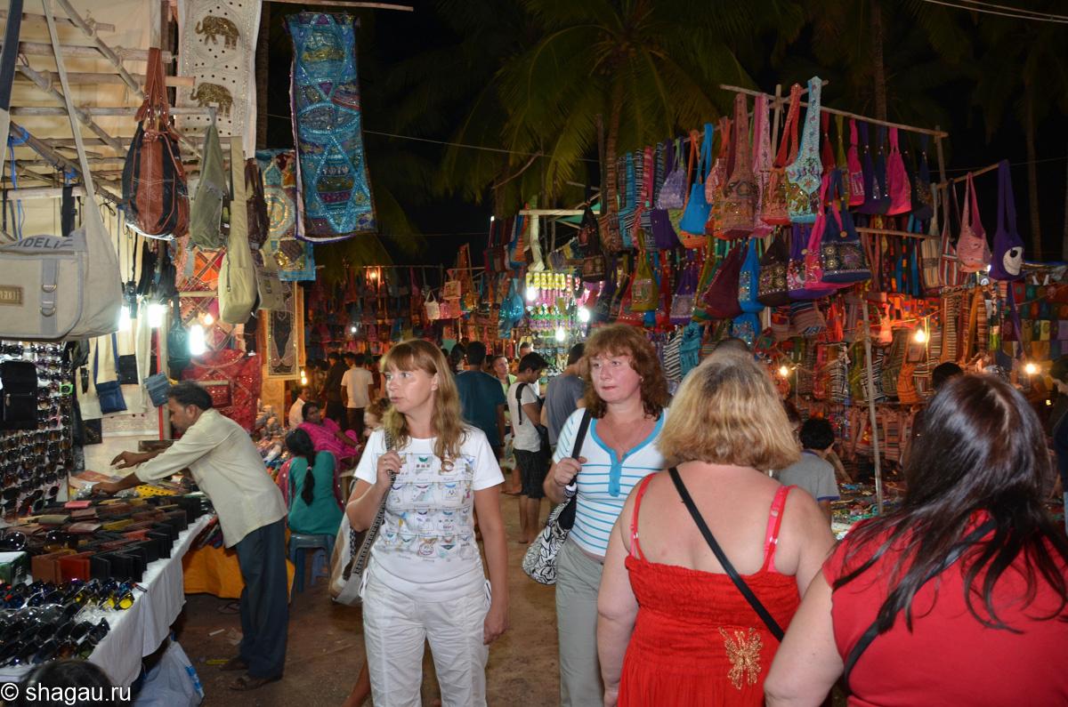 Ночной рынок Гоа