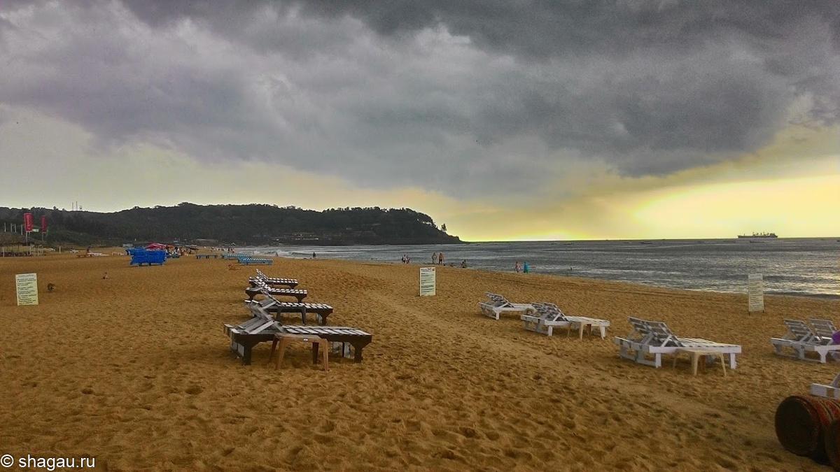 Пляжи на Гоа
