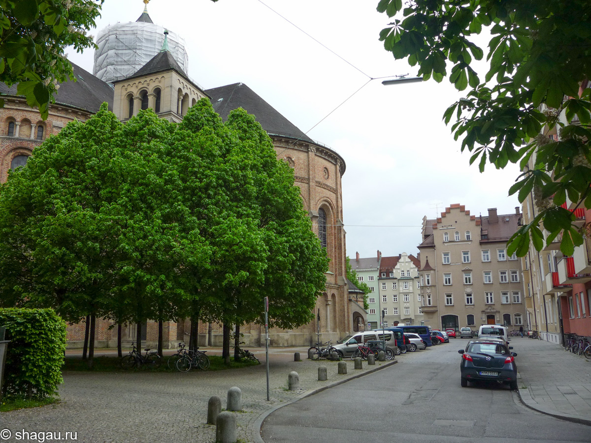 В центре Мюнхена