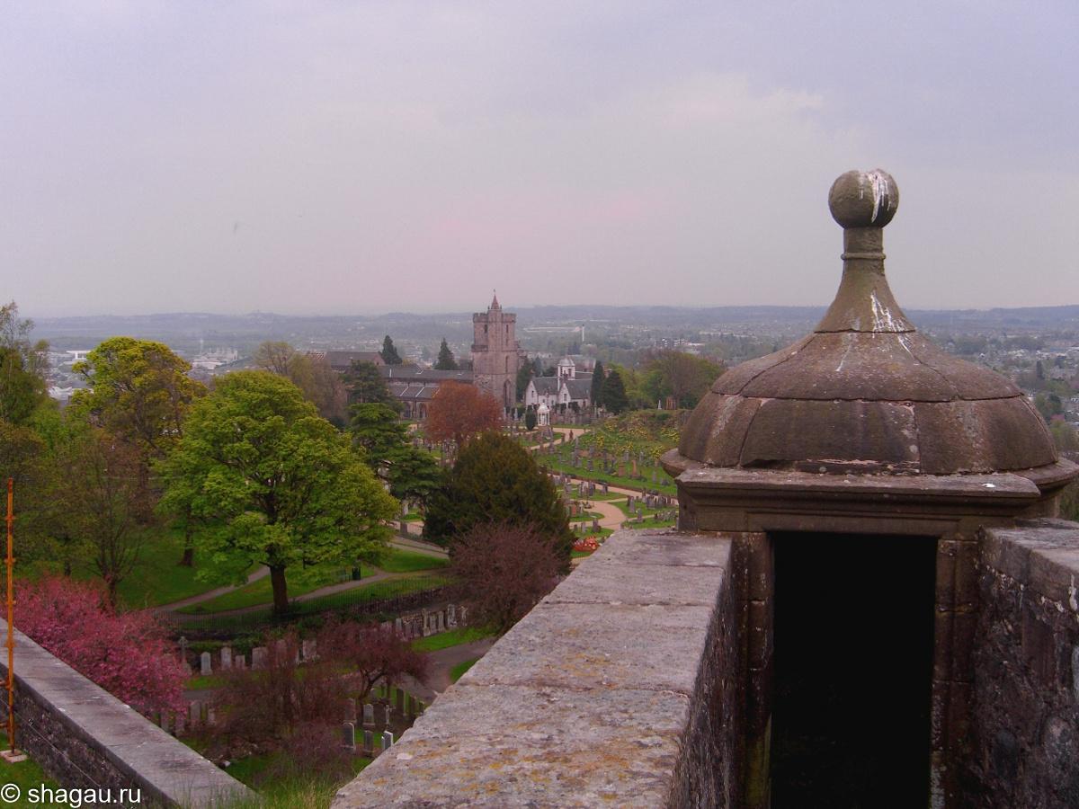 Виды из замка Стерлинг