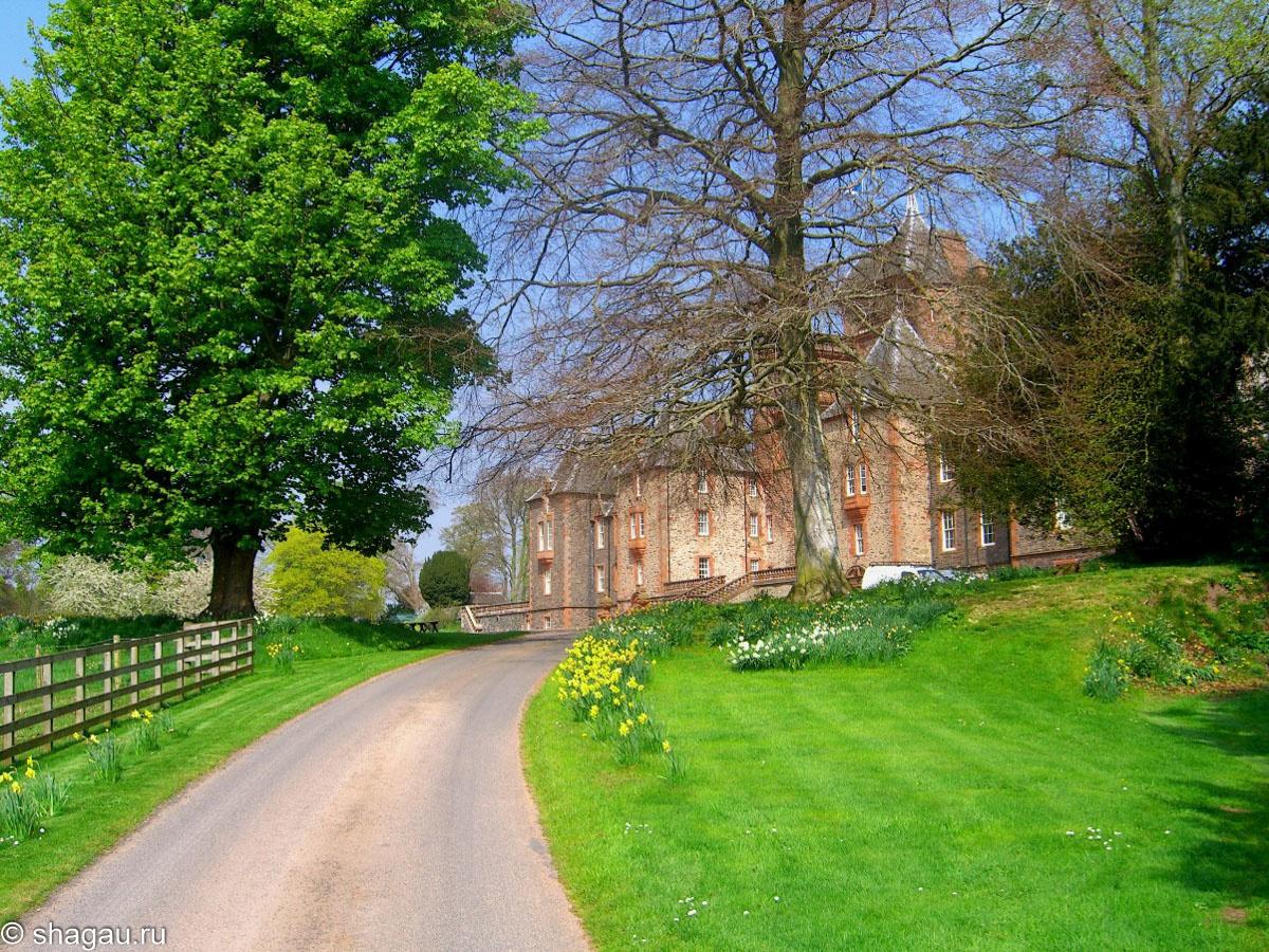Подходя к замку Тирлстейн
