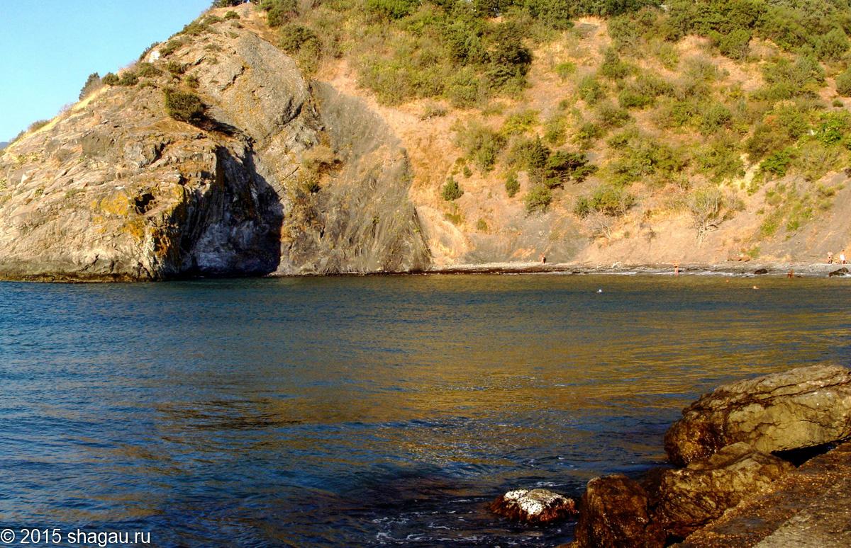 Морской пейзаж с видом на Аю-даг