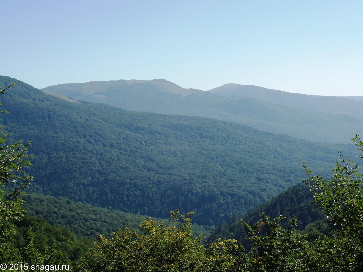 Вид с Чучельского перевала