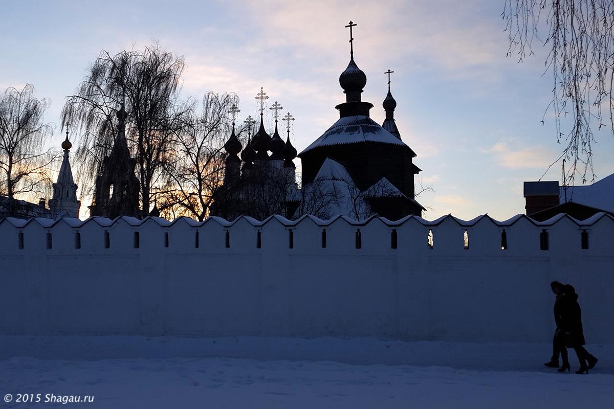 Храмы Троицкого монастыря