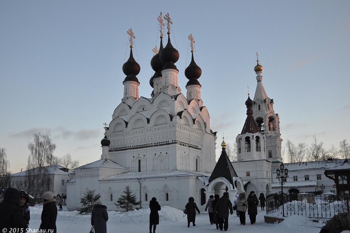 Главный храм троицкого монастыря