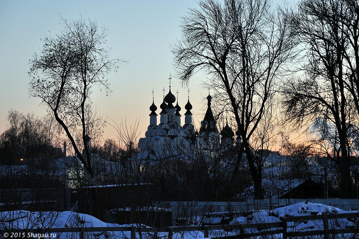 Вид из Воскресенского монастыря