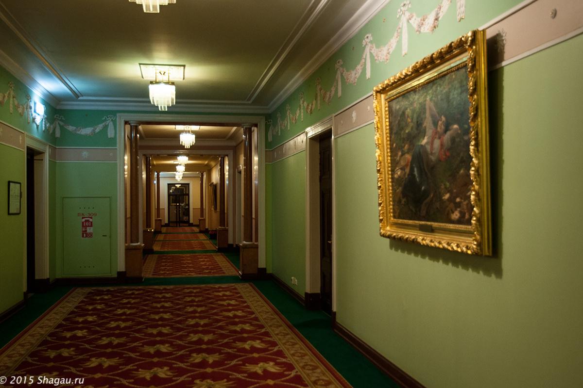 В коридорах Метрополя