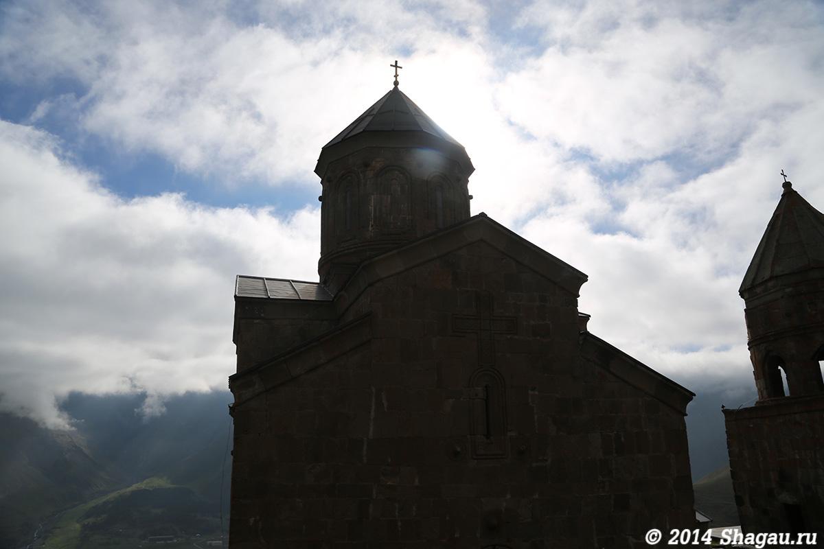 Троицкая церковь в Гергетти