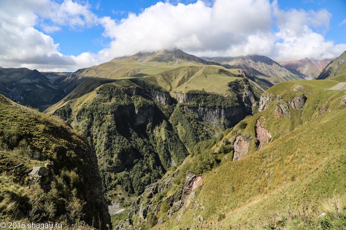 Грузия крестовый перевал фото