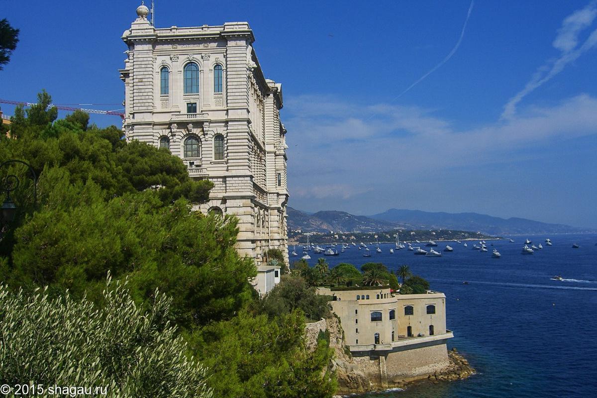 Океанографический музей. Монако