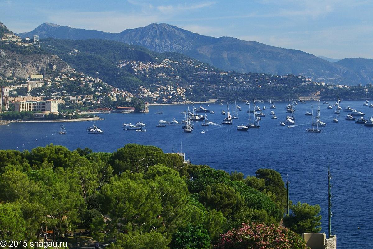 Вид из Монако виля