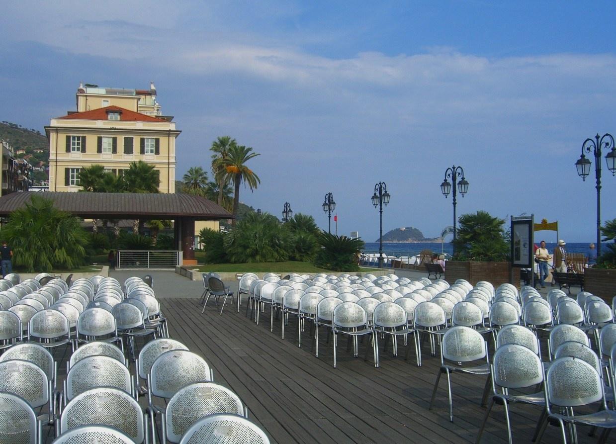 Площадка, где устраивали вечерние представления