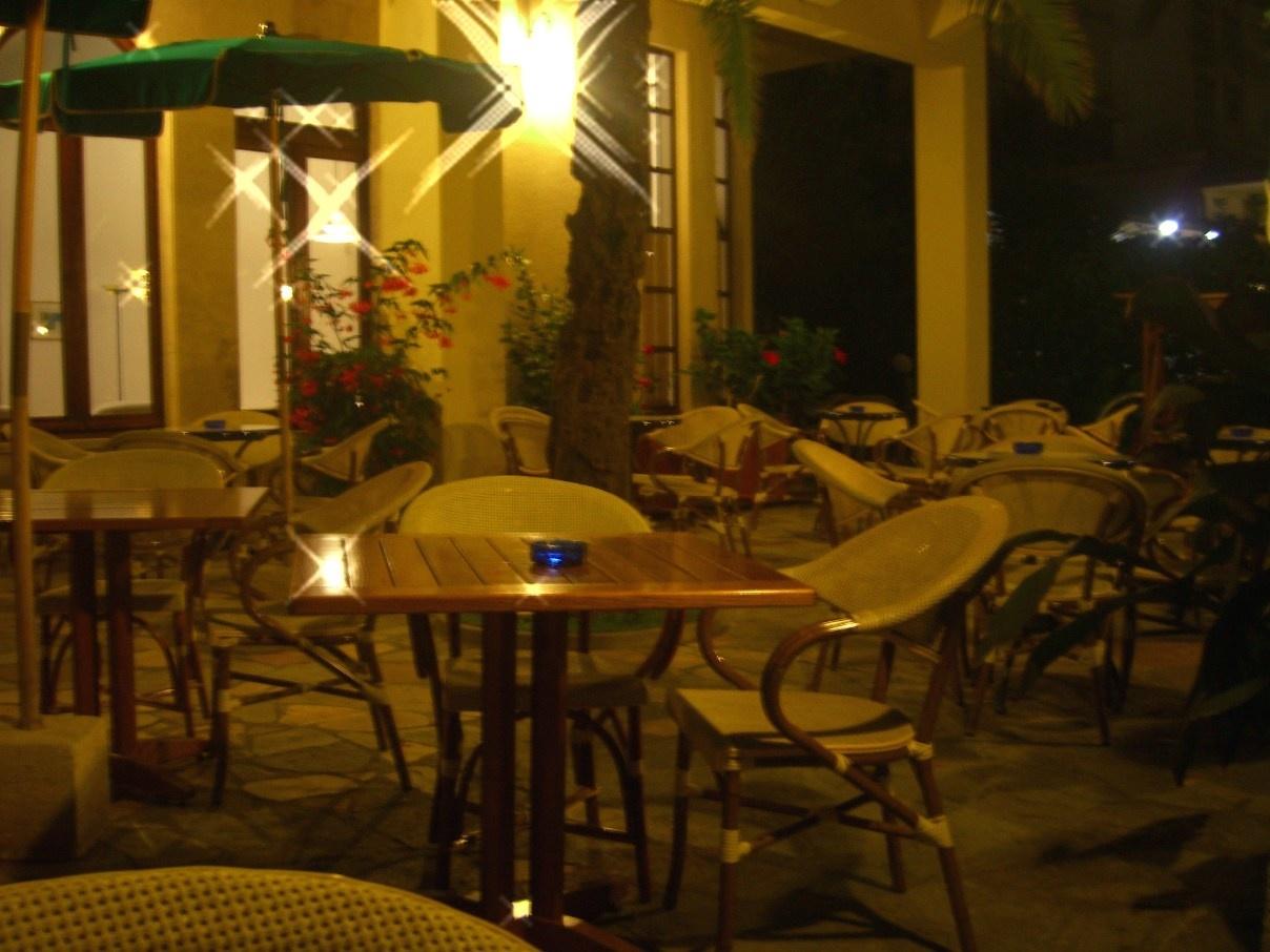 Терраса в отеле
